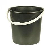 Ведро 10л. (2 сорт) черный фото