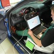 Диагностика автомобилей, Компьютерная диагностика двигателя фото