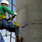Ремонт и строительство методом промышленного альпинизма, Все виды высотных строительно-монтажных и реставрационных работ методами промышленного альпинизма, любой степени сложности на любой высоте фото