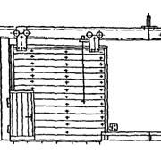 Ворота откатные серия 1.435.9-36.93, 1.435.9-24 фото