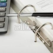 Бухгалтерских услуг. фото