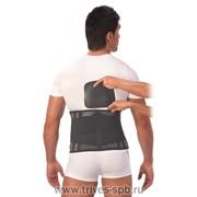 Поясничный корсет ортопедический анатомическим пелотом Т-1557 фото