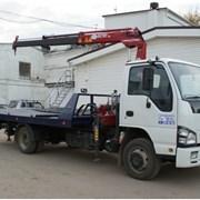 Услуги автоэвакуатора ISUZU от 1,5-3,5 тонн фото