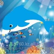 Картинки стразами Дельфиненок 21х17 см фото