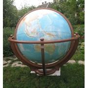 """Большой глобус, модель """"Ретро"""" фото"""
