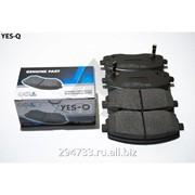 Колодка дискового тормоза передняя Yes-Q Ceremic, кросс_номер 5810107A00 фото