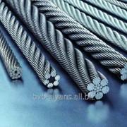 Трос стальной 27,0 мм ГОСТ 2688-80 двойной свивки типа ЛК-Р фото