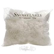 Снежные хлопья Snowflakes, 100 гр (Kaemingk) фото