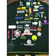Нанесение логотипа на футболки