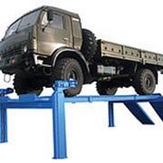 ПЛ-15 по ТЗ Подъемник четырехстоечный г/п 15000 кг. платформы гладкие фото
