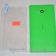Крышка задняя зеленая для Nokia Lumia 930 + ПЛЕНКА В ПОДАРОК 4709 фото