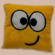 Подушка декоративная Смайлик квадратный П-1983 фото