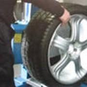 Шиномонтаж балансировка ремонт автомобильных колес фотография