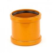 Муфта для наружной канализации 100 мм Хемкор, арт. 5441 фото