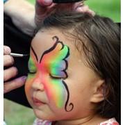 Детский аквагрим. Свадебный бодиарт. фото