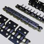 Приводные цепи с аттачментами (специальные) фото