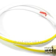 Шланг для подвода газа белый с полосой (различной длинны) фото
