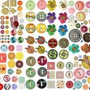 Кнопки магнитные фото