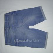 Женские джинсовые шорты RIWER ISLAND SORTY BLUE MED 2014 фото