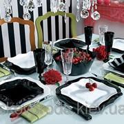 Столовый сервиз Luminarc Authentic black/white E6199 (30 предметов) фото