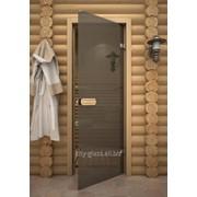 Дверь Бронза матовая, осина 225M фото