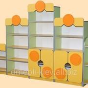 Стінка Скарбничка МДФ 2700х300х1588 фото