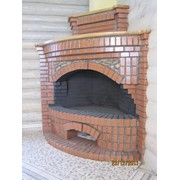 Облицовка печей, каминов фото