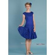 Платье спортивное для бальных танцев Р 7.5 Альера фото