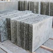 Блок строительный конструкционный из арболита. 400х200х500 фото