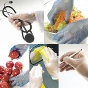 Перчатки одноразовые латексные, виниловые, нитриловые, п/э фото
