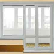 Балконные двери металлопластиковые фото