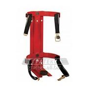 Кронштейн транспортный на 2 ремнях для огнетушителей 8 и 9 кг (d180-185) фото
