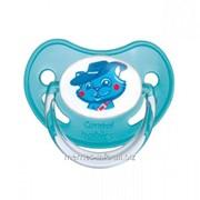 Пустышка латексная ортодонтическая волшебная сказка Canpol Babies 0-6 мес./12 фото
