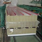 Стеновые и кровельные панели минераловатным утеплителем на основе базальтового волокна фото