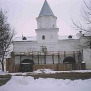 Реставрация Воротной башни Ярослава Дворища В. Новгород. фото