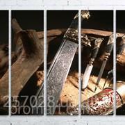 Модульна картина на полотні Мисливська зброя код КМ100150(150)-061 фото