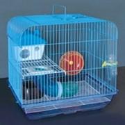 Клетка для грызунов HOMеZOO №9 цинк /эмаль (38*28*37) 9#Z (1*10) нк-010 фото