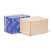 Почтовая коробка 265*165*190 бурая фото