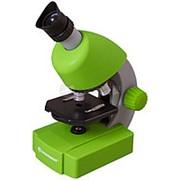Микроскоп Bresser Junior 40x-640x зеленый фото