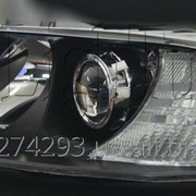 Установка биксеноновых линз в фары Nissan X-Trail фото