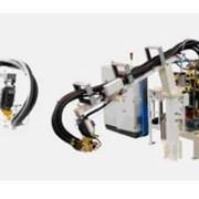 Оборудование для производства блоков из ППУ фото