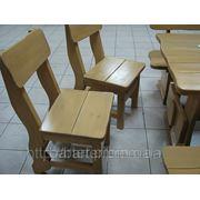 Изготовление садовой мебели из ольхи по индивидуальному заказу
