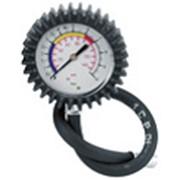 Манометр со шлангом для проверки давления воздуха 1-10 бар фото