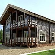 Строительство дома из бруса (байкальская лиственница) фото