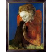 Картина Женщина с вороной, 1904 , Пикассо, Пабло фото