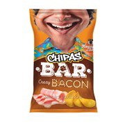 """Картофельные чипсы """"ChipasBar"""" со вкусом бекона фото"""