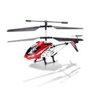"""Вертолёт и/к Mioshi Tech """"IR-230"""" (3,5 канала, 23 см, свет, гироскоп, аккум. бат., запас. дет., USB, красн.) фото"""