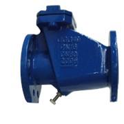 Клапан обратный створчатый, DN200 PN10, FIG-128, уплотнение EPDM,TECNIDRO
