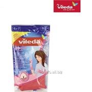 Перчатки Vileda Стайл размер S фото