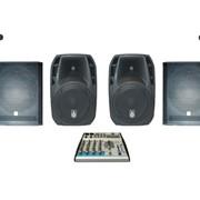 Комплект звукового оборудования 3 кВт ( Аренда) фото